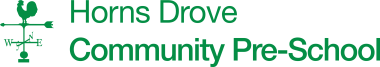Horns Drove Community Pre-School Logo
